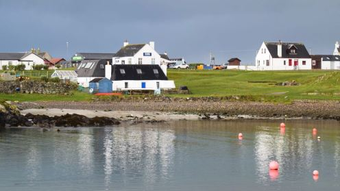 Looking across Scarinish Harbour