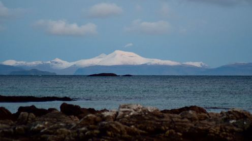 By now an icy blue Ben More
