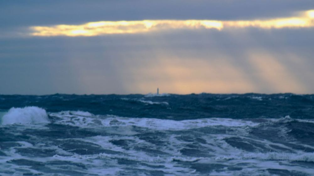 Skerryvore Lighthouse in the spotlight - it has not shrunk!