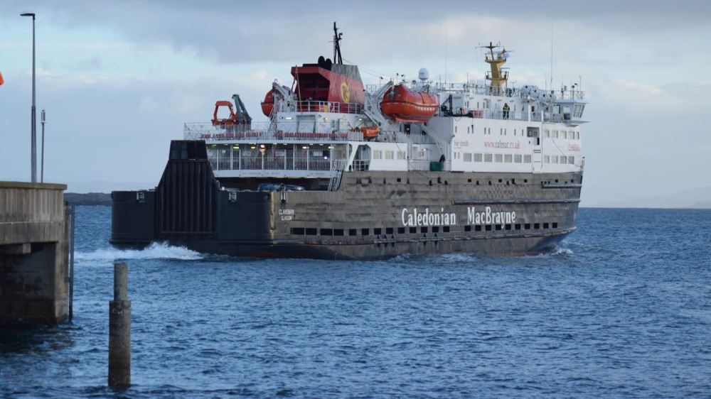 The Clansman heading back to Coll and Oban - when will she return?