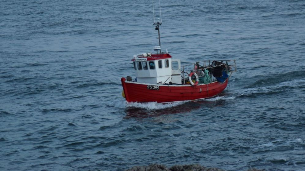 Fishing boat Strenuous