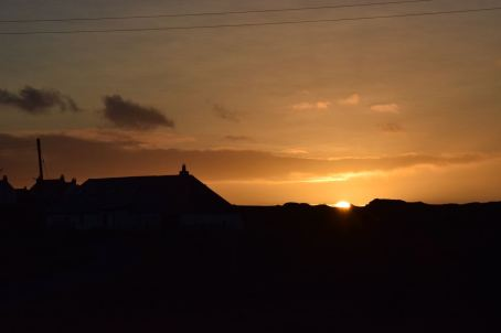 Sunset from Cornaigbeg