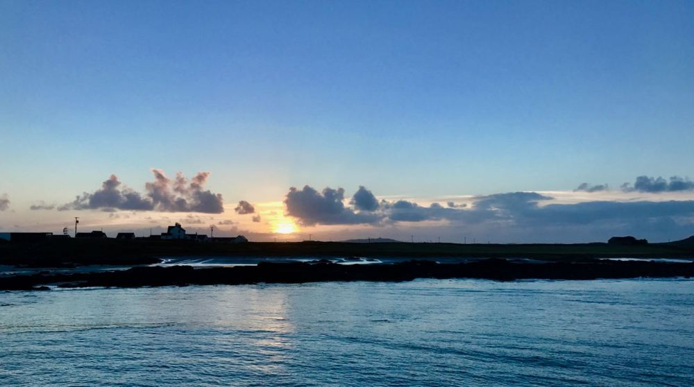 Sunset from the Pier, Gott Bay, Tiree