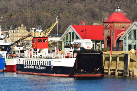 MV Loch Striven at North Pier