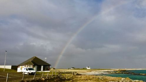 Thursday's Rainbow over Gott Bay