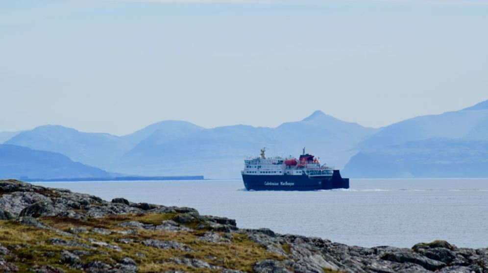 The Mighty One limps towards Coll