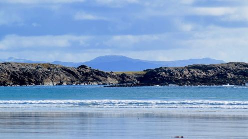 Looking across to Mull
