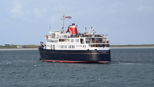 The cruise ship Hebridean Princess