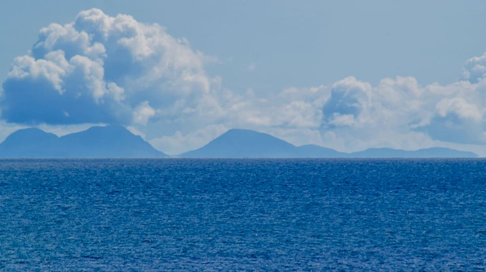 From Crossapol Point the Paps of Jura