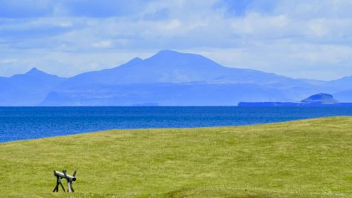 Ben More from the lighthouse (Scarinish)