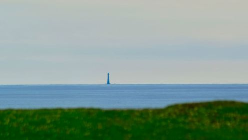 Skerryvore Lighthouse from Ceabhar Restaurant