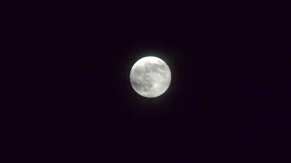 May's Full Flower Moon from Scarinish