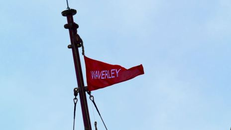 The PS Waverley's Pennant
