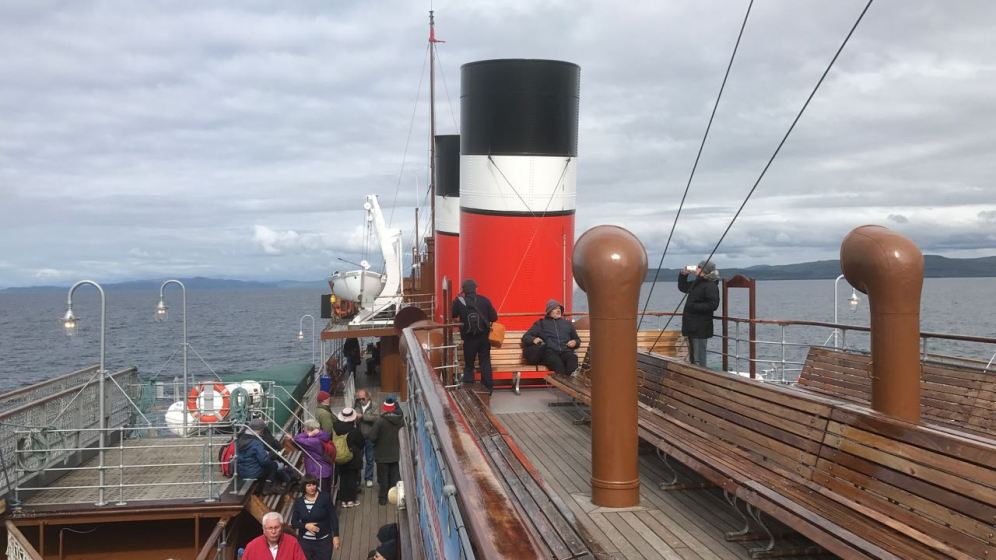 Aboard the Waverley