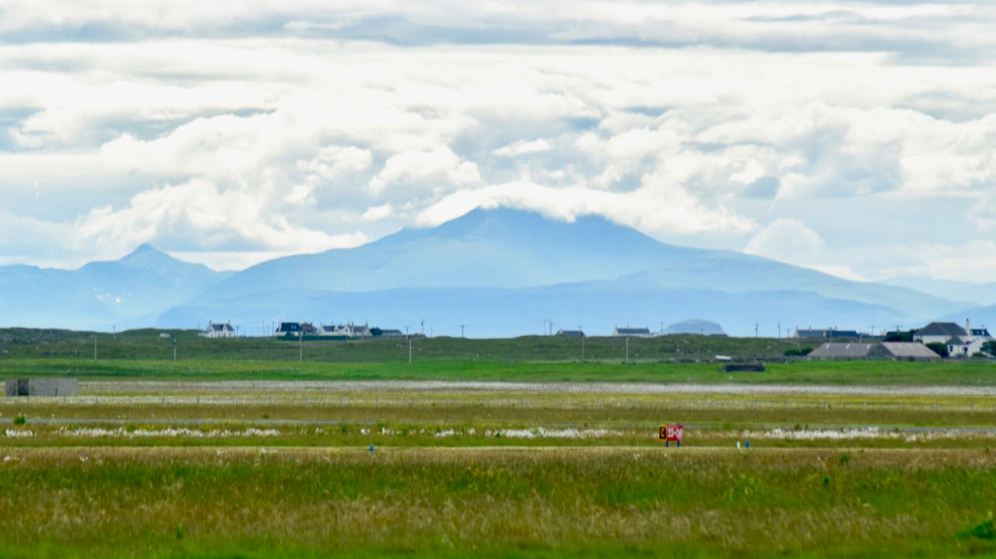 Ben More, Isle of Mull, from the Airport
