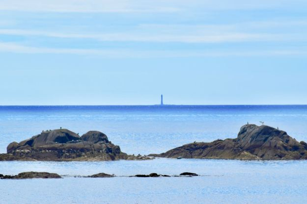 Skerryvore Lighthouse from West Hynish