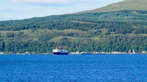 MV Isle of Mull departing Craignure (Mull)