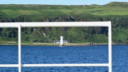 Lighthouse at Rubha nan Gall (Tobermory)