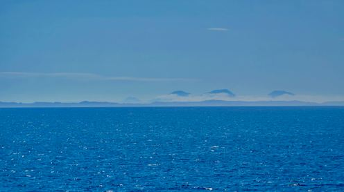 The distant Paps of Jura