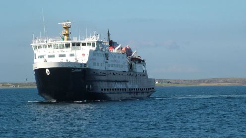 The 'Mighty' Clansman our dedicated ferry at present