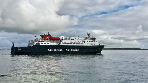MV Clansman Saturday morning sailing