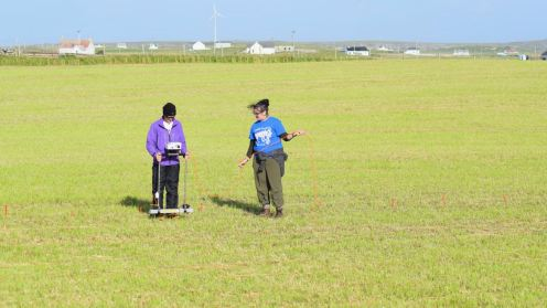 Geophysics survey
