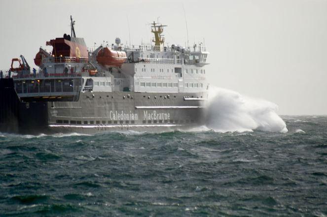 Heading out into the Passage of Tiree