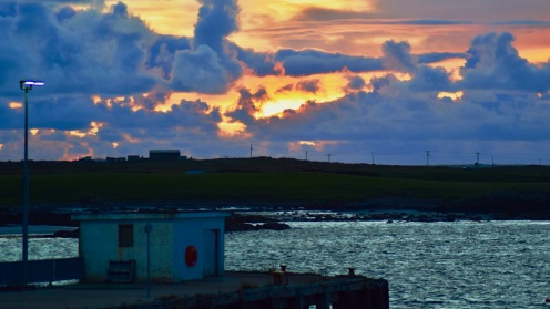 The Old pier Tiree