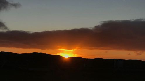 Sunrise from Scarinish
