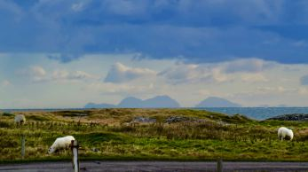 The Paps of Jura - 50 miles away and yet so clear!