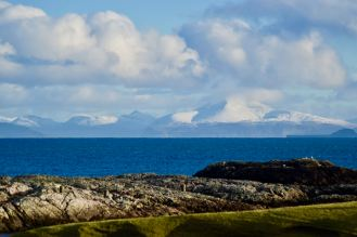 Ben More on the Isle of Mull from Scarinish