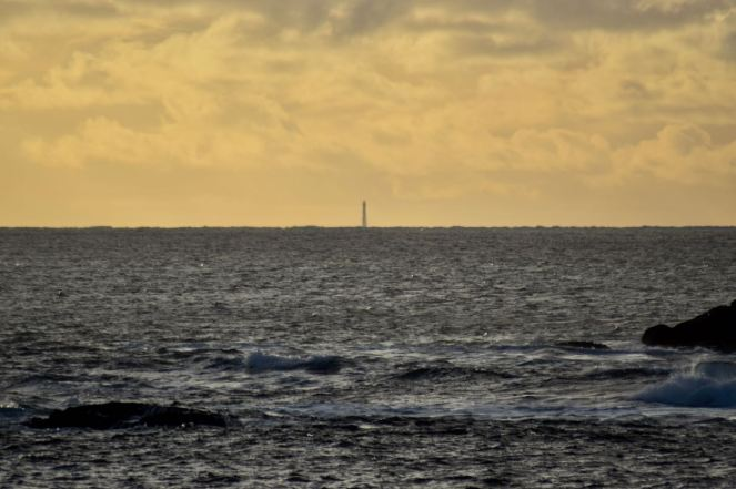 Skerryvore Lighthouse from Balephuil