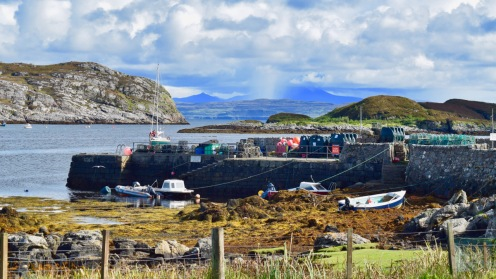 Old Harbour at Arinagour, Coll