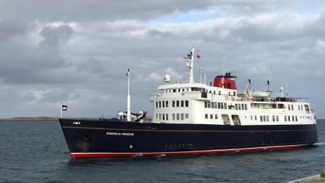A Royal Visitor - the Hebridean Princess