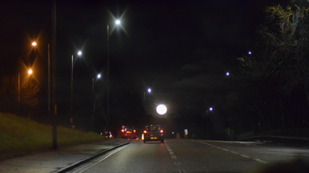 Wold Moon from Dundee