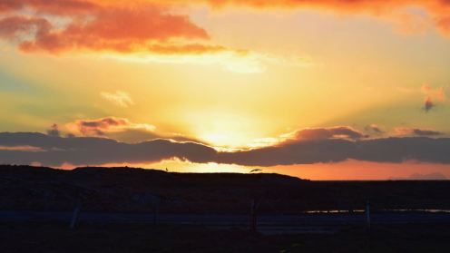 Sunrise from Pier Road, Scarinish