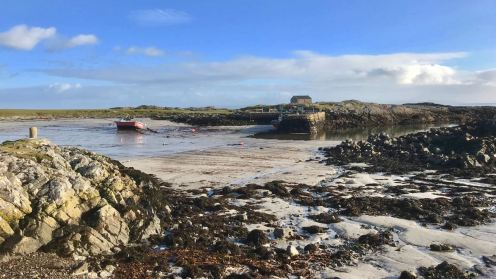 Low Tide at Scarinish Old Harbour