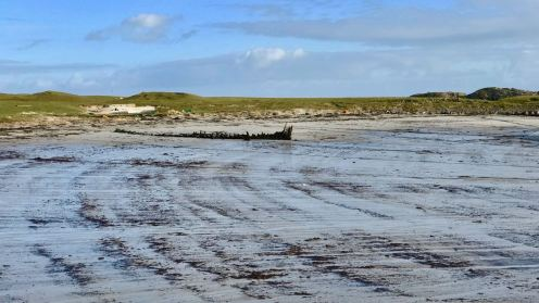 Low Tide Pattern at Scarinish Old Harbour