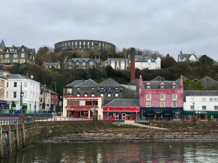 The Distillery and McCaig's Tower