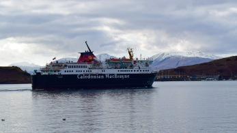 The Ferry departing for Craignure on Mull
