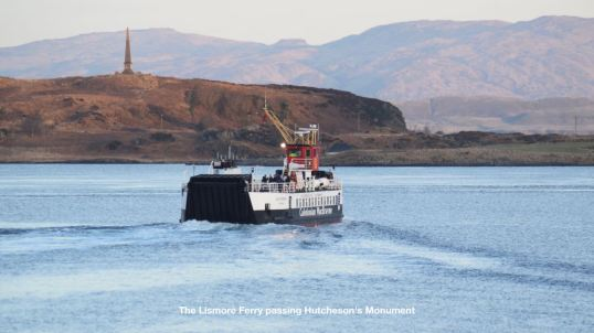 The Lismore ferry viewed from the Ferry Terminal