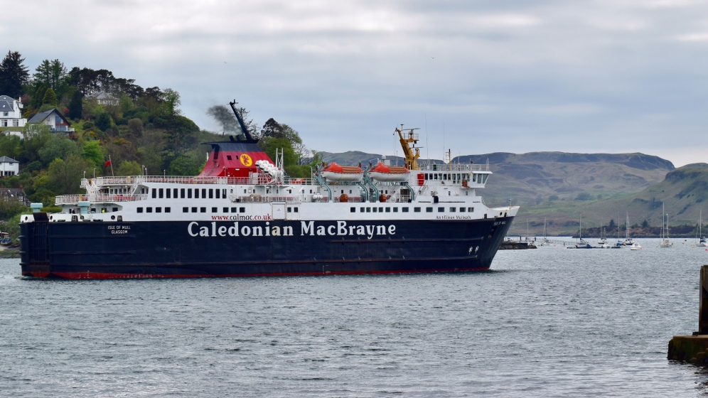 MV Isle of Mull in Oban Bay