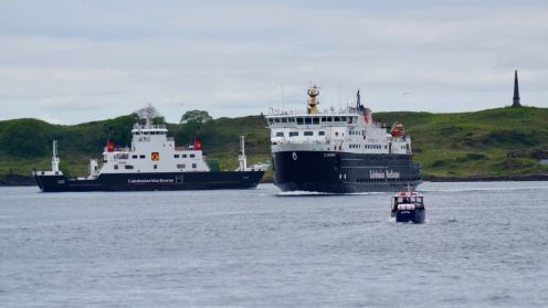 MV Course and MV Clansman