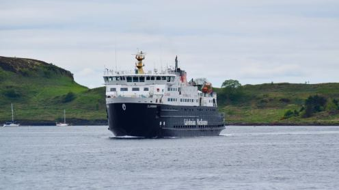 MV Clansman returning from Colonsay