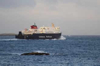 The MV Clansman Oban bound