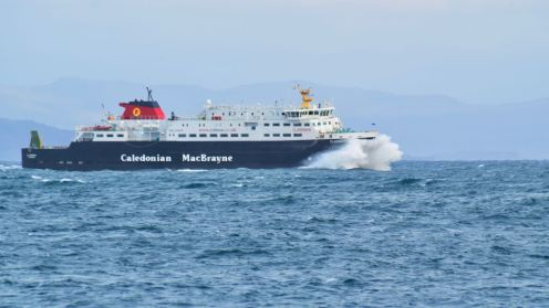 MV Clansman at Coll