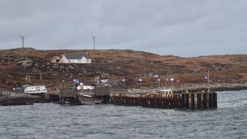 A wintry approach to Coll