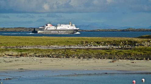 MV Clansman bound for Oban via Coll