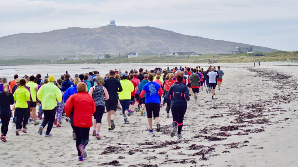 The Tiree 10K and Half-Marathon organised by Tiree Fitness