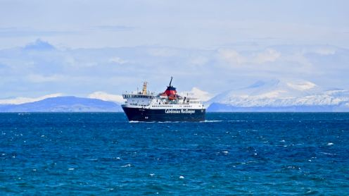 MV Isle of Mull - 4th April